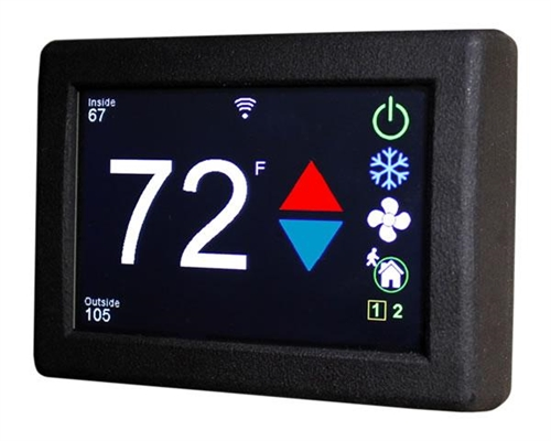 Micro-Air ASY-351-X01 EasyTouch RV 351 Touchscreen Thermostat With Bluetooth - Black Questions & Answers