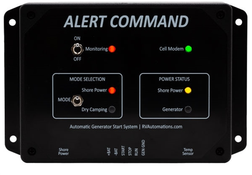 RV Automations Alert Command Auto Generator Start & Temperature Monitoring System Questions & Answers
