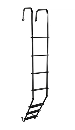 what is the distance from the upright portion of the ladder to where it mounts to the roof?