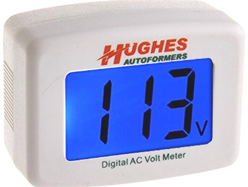 Hughes Autoformer DVM1221 Digital AC Volt Meter