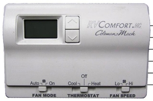 Coleman Mach 8330-3362 Digital Heat/Cool RV Thermostat - White Questions & Answers
