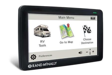 Rand McNally RVND 7730 LM RV GPS With Lifetime Maps & WiFi