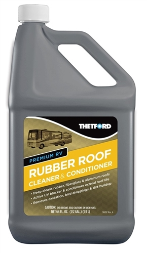 Thetford 96016 RV Rubber Roof Cleaner & Conditioner - 64 Oz