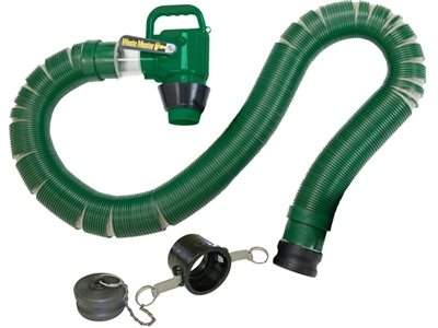Is there a hydro flush unit that works with the waste master system fittings?