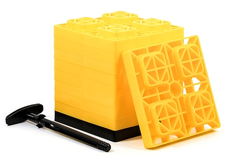 Camco 44512 RV FasTen Leveling Blocks Questions & Answers