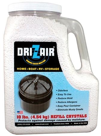 Dri-Z-Air DZA160 Refill Crystals - 10 Lbs Questions & Answers