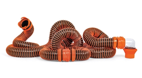Camco 39867 RhinoEXTREME RV Sewer Hose Kit - 20' Questions & Answers