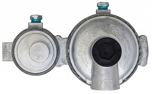 Marshall Excelsior MEGR-298 Two-Stage Propane Regulator With 90-Degree Vent