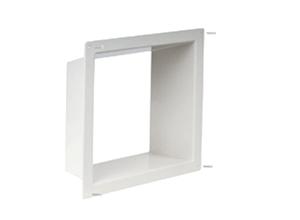 Fan-Tastic 2040-81 Universal White Interior Garnish With Screws