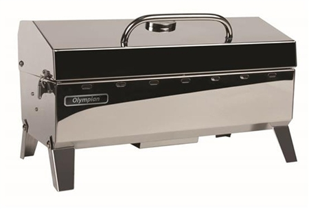 Does the 57251 Olympian grill have 1 or 2 burners?
