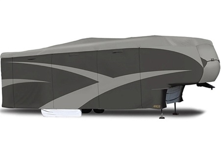 ADCO 52255 Designer Series SFS Aquashed 5th Wheel Cover - 31'1'' - 34' Questions & Answers