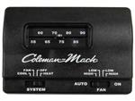 Coleman Mach 7330F3852 Analog Heat/Cool RV Air Conditioner Thermostat - 12V - Black