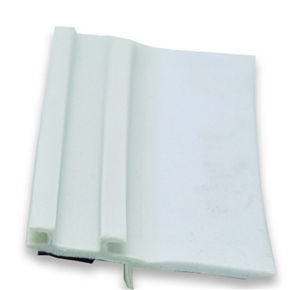 """AP Products 018-317 White EK Slide-Out Seal Base With 2 7/8"""" Wiper - 1/2"""" x 3 2/3"""" x 35'"""