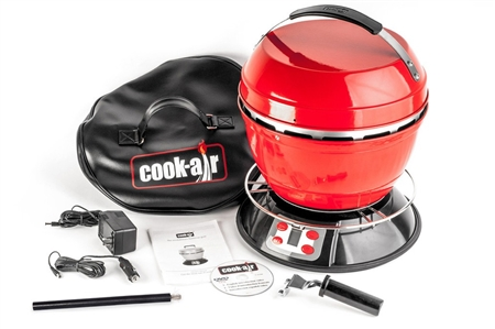 Cook Air EP3620RD RV Portable Grill - Red