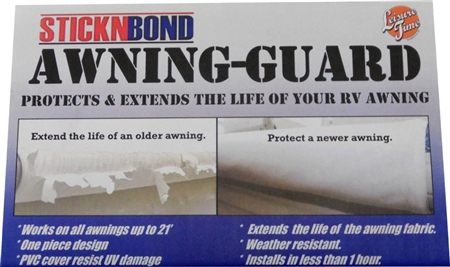 If you use this StickNBond awning guard on a shorter awning do you cut it?