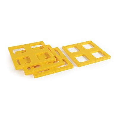 Camco 44500 RV FasTen Leveling Block Caps - Set of 4 Questions & Answers