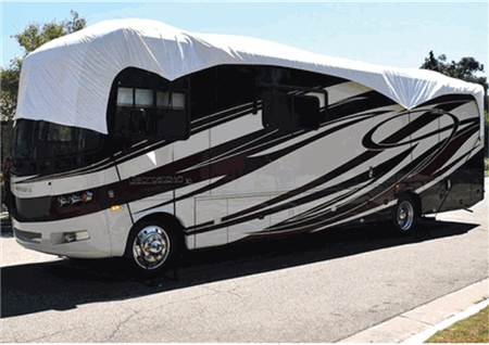 Is the Adco 36042 Tyvek RV Roof Cover 30' wide/36' long?