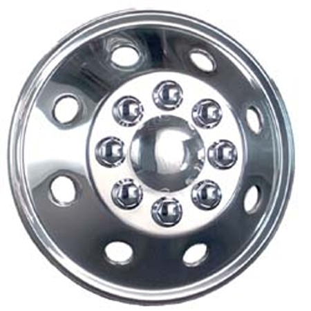 """the 16.5"""" wheel covers are they stainless steel is what I ment to ask."""