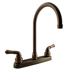 Dura Faucet DF-PK330HC-ORB Bronze J-Spout RV Kitchen Faucet