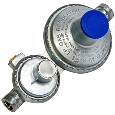 Camco 59322 2 Stage Propane Regulator - Horizontal Questions & Answers