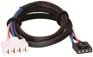 Tekonsha 3020-P Brake Control Wiring Harness, 2 Plugs - Chrysler and Dodge