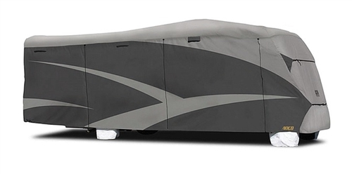 ADCO 52842 Designer Series SFS Aquashed Class C RV Cover - 20'1''- 23' Questions & Answers