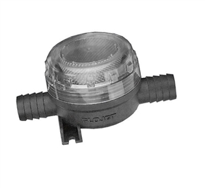 Flojet 01740002A Stainless Steel Strainer In Line 1/2'' Barb