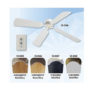 LaSalle Bristol 410DC36RBECYCY 12V 36'' RV Ceiling Fan Bronze With Cherry Blades Questions & Answers