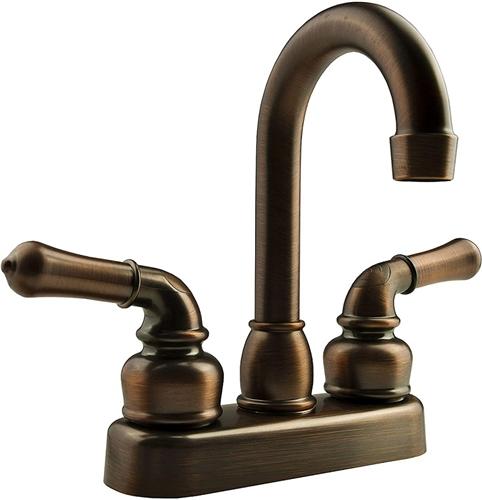 Dura Faucet DF-PB150C-ORB Classical Bronze RV Bar Faucet