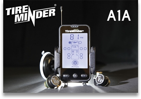 Minder Research TM22122 TireMinder Tire Pressure Monitoring System - 4 Sensors Questions & Answers
