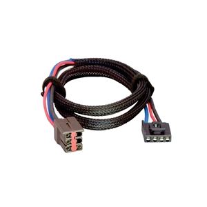 Tekonsha 3035-P Brake Control Wiring Harness, 2 Plugs - Ford, Land Rover, Lincoln and Mercury