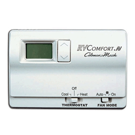 Is this thermostat 12 V with battery back up or just battery alone? Thanks