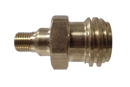 When attached to hose ,  valve does not open enough to allow for sufficient gas flow for proper flame.