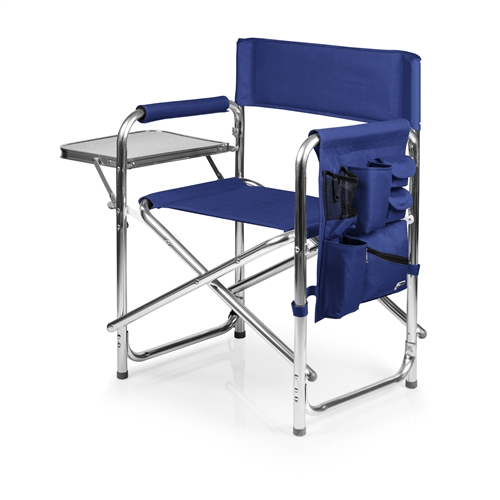 Picnic Time 809-00-138-000-0 Sports Chair - Navy