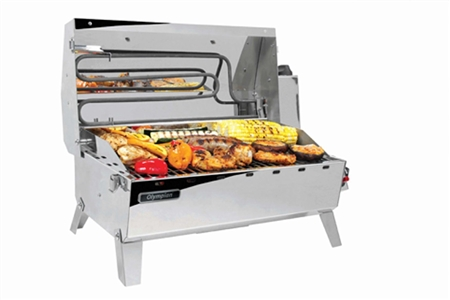 Camco 57252 Olympian Hybrid Grill - Gas or Electric Questions & Answers