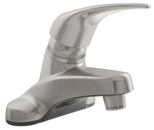 Dura Faucet DF-PL100-SN Satin Nickel Single Lever Bathroom Faucet