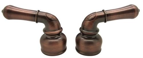 Dura Faucet DF-RKC-ORB Non-Metallic Bronze Classical Lever Handles