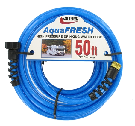Valterra W01-8600 AquaFRESH High Pressure RV Water Hose - 50' Questions & Answers
