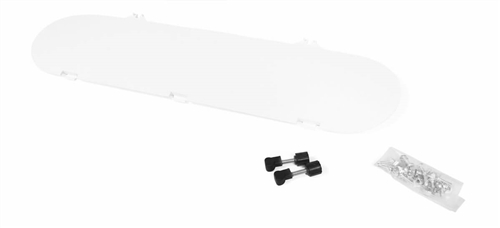Camco 40543 Replacement Cap Kit for RV Propane Tank Cover - Polar White