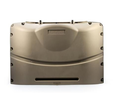 Camco 40569 20 lbs. Lp Double Tank Cover Champagne