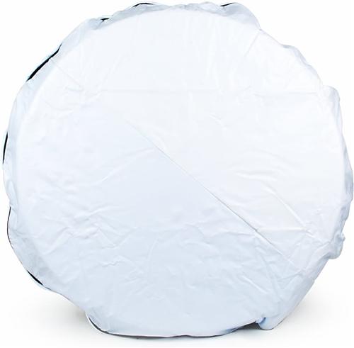"Camco 45344 Vinyl Spare Tire Cover - Arctic White - 29"""
