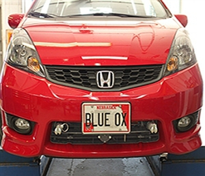 Blue Ox BX2253 Baseplate For 2009-2014 Honda Fit & Fit Sport With Fog Lights