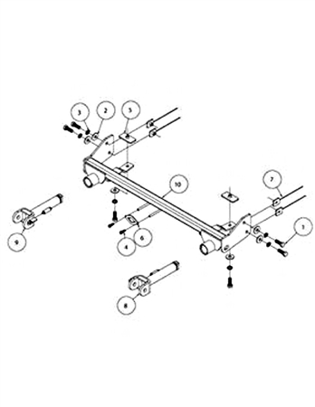 Roadmaster 521448-5 2010 - 2018 Jeep Wrangler EZ5 Baseplate Questions & Answers