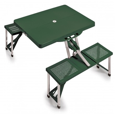 Picnic Time 811-00-121-000-0 Portable Table and Seats - Hunter Green