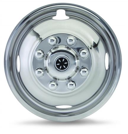 Dicor Corp FL60-59 16'' 8 Lug, 4 Hand Hole Fastliner Wheel Simulator Set Questions & Answers