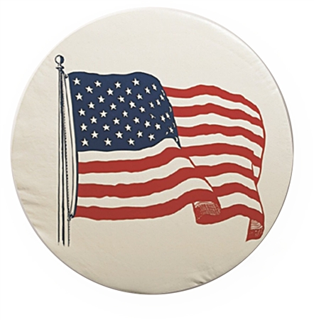 ADCO 1781 Size A Spare Tire Cover - US Flag - 34""
