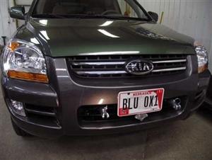 Blue Ox Base Plate BX2710 Kia Sportage 2005 - 2008