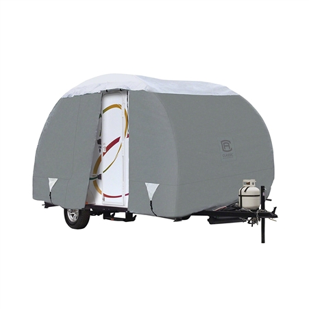 """Classic Accessories 80-199-151001-00 OverDrive PolyPRO 3 Deluxe R-Pod Travel Trailer Cover- Fits To 18'8"""""""