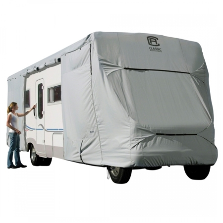 Classic Accessories 80-129-161001-00 PermaPRO Class C RV Cover - Model 3 - 23'-26' Questions & Answers