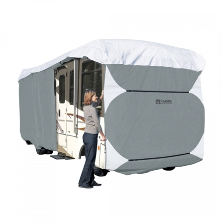 Classic Accessories 70663 PolyPRO3 33' - 37' Class A RV Cover - Model 6 Questions & Answers
